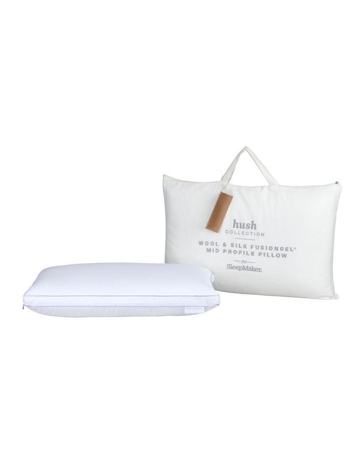 Sleep Collections Hush Wool and Silk FusionGel Pillow image 2