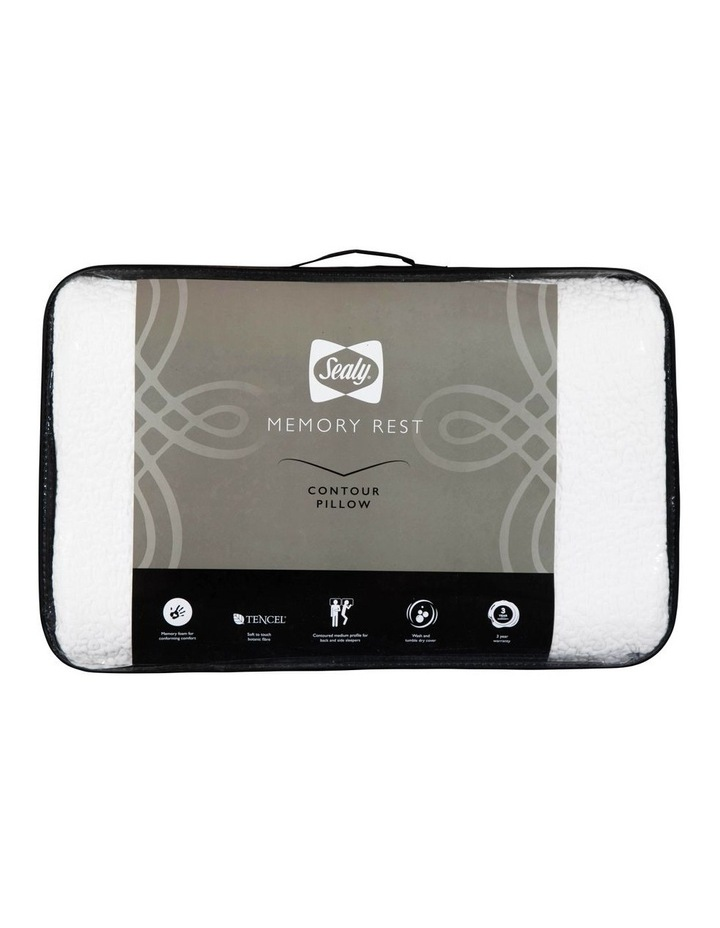 Sealy Memory Rest Contour Pillow image 1