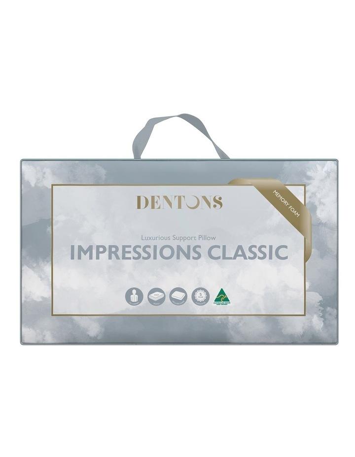 Impressions Classic Memory Foam Pillow image 1