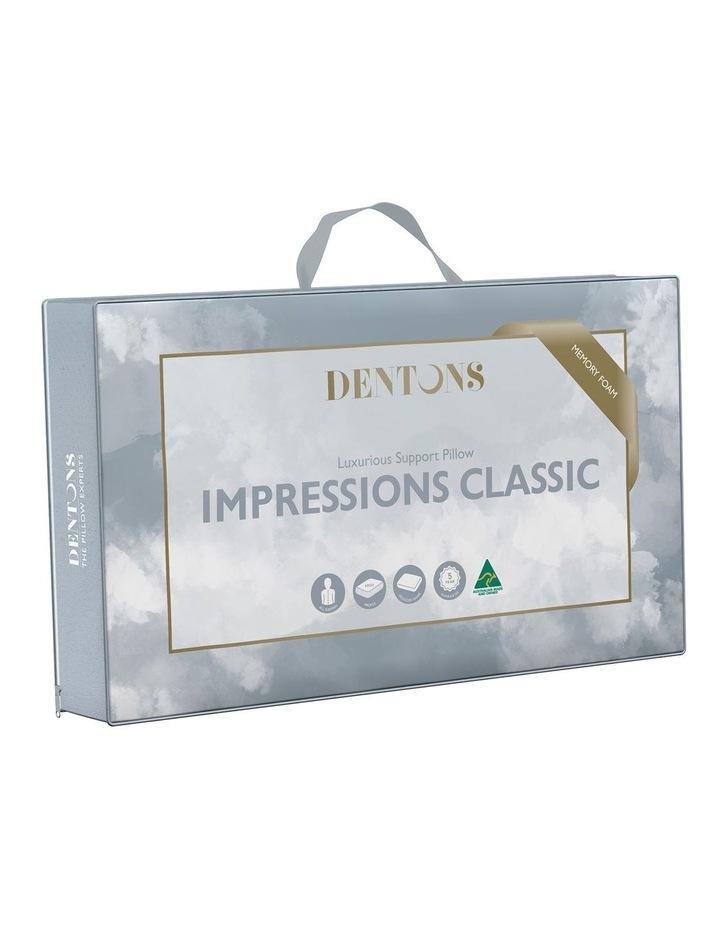 Impressions Classic Memory Foam Pillow image 2