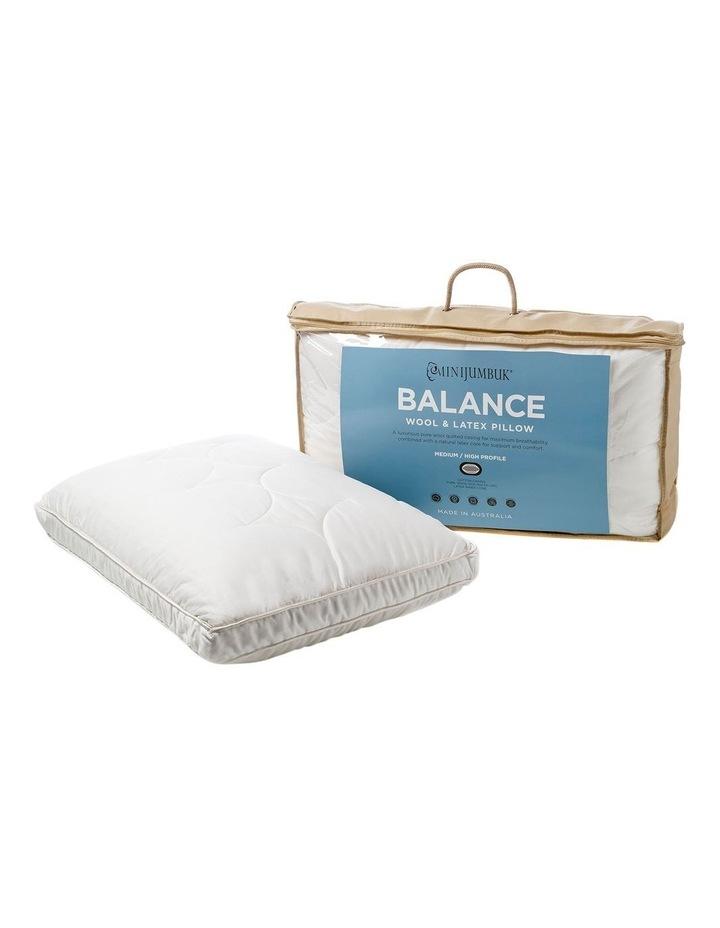 MiniJumbuk Balance Wool & Latex Pillow: Med/High image 6