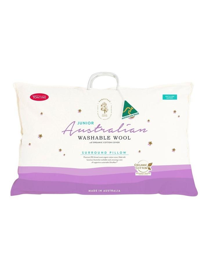Homestead Junior Australian Washable Wool Pillow image 1