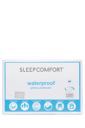 Sleepcomfort Waterproof Pillow Protector Standard | Tuggl