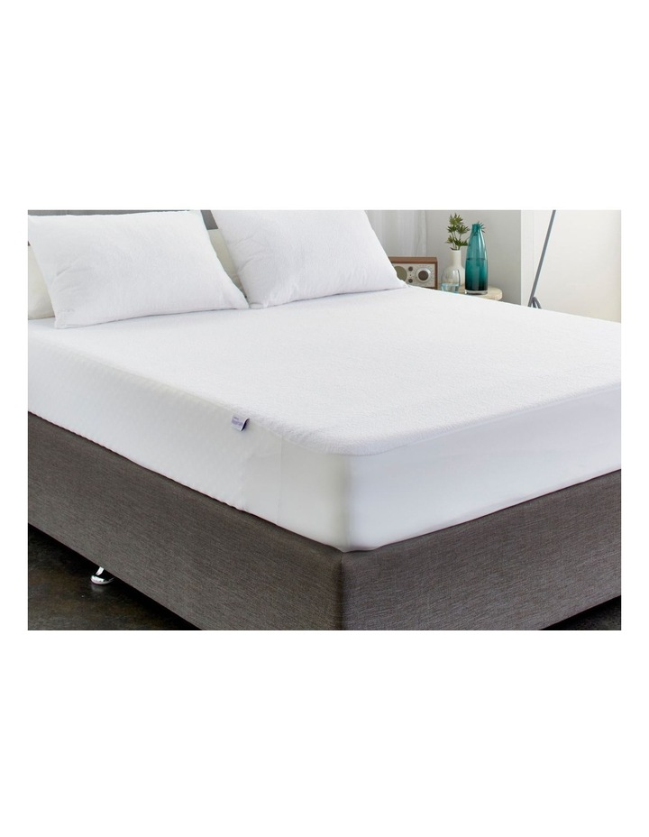 Protect-A-Bed Genesis Cotton Terry Waterproof Fitted Mattress Protector image 2