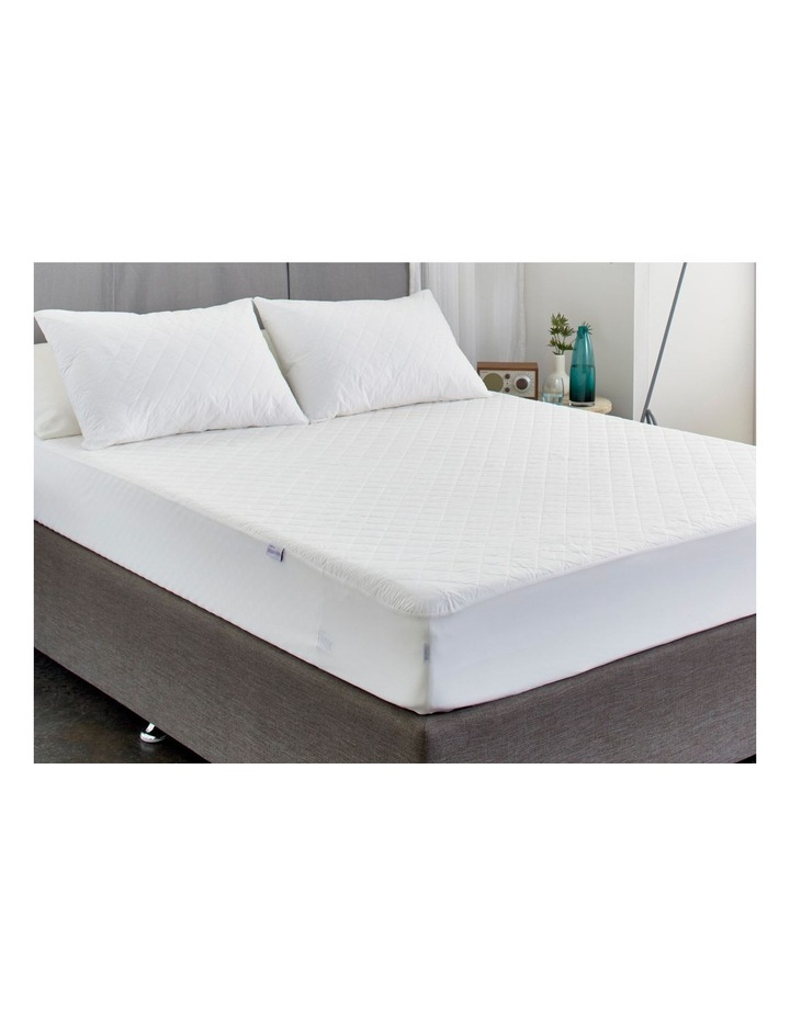 Protect-A-Bed Aero Cotton Quilted Waterproof Fitted Mattress Protector image 2