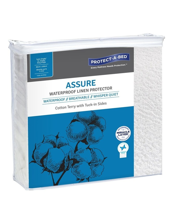 Protect-A-Bed Assure Cotton Terry Linen Protector image 1