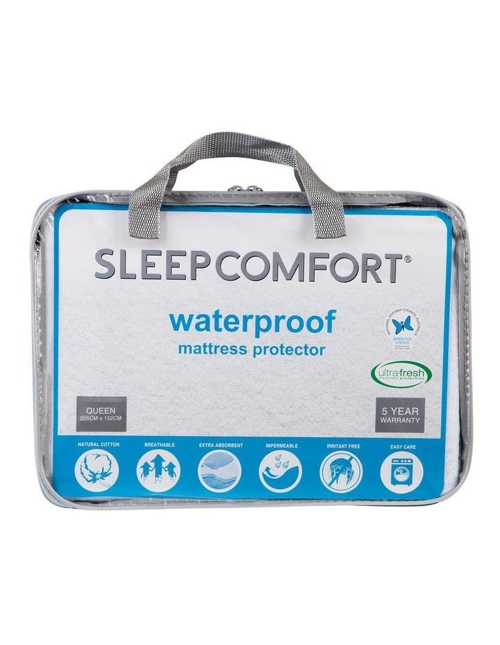 Sleepcomfort Waterproof Towelling Mattress Protector image 1