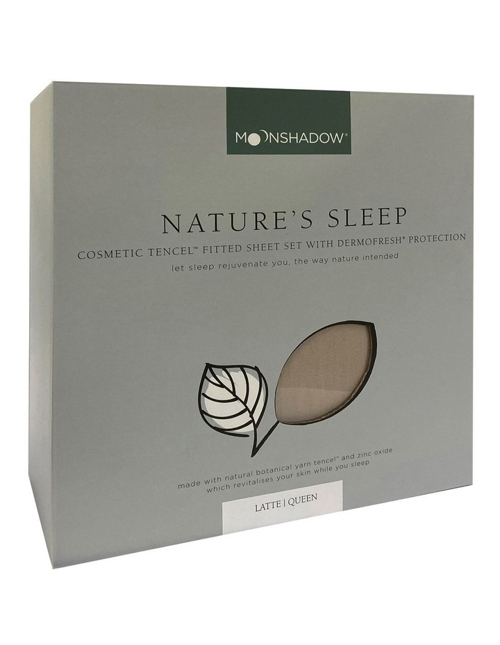 Nature's Sleep Cosmetic TENCEL Fitted Sheet Set image 1