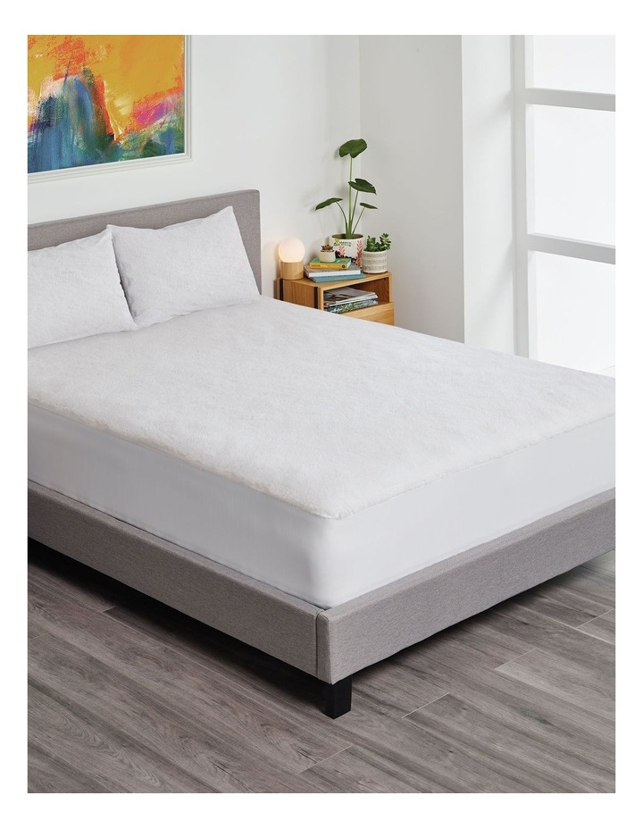 Serenity Waterproof Fitted Mattress Protector with Bonus Pillow Protector image 2
