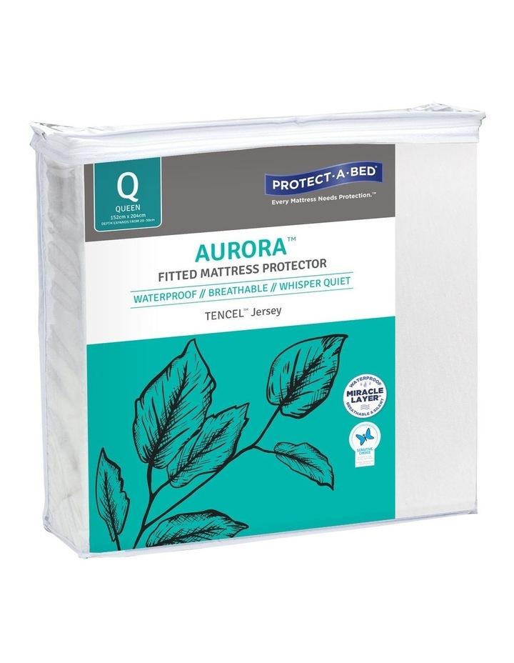 Aurora TENCEL Waterproof Fitted Mattress Protector image 2