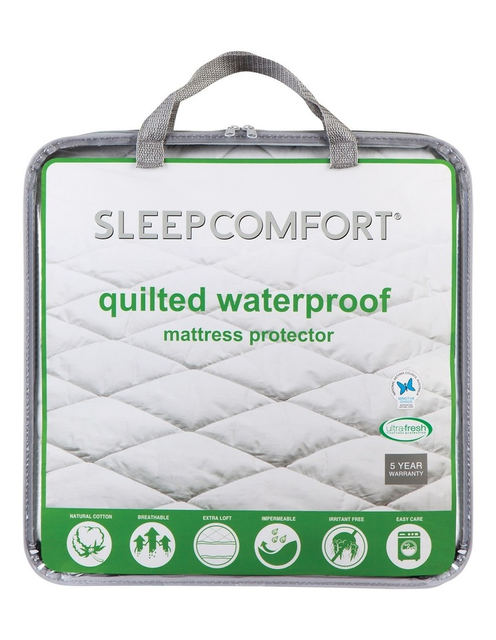 Quilted Waterproof Mattress Protector image 1
