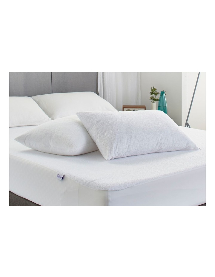 Protect-A-Bed Genesis Cotton Terry Waterproof Pillow Protector image 2