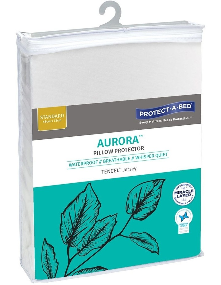 Aurora TENCEL Waterproof Fitted Pillow Protector image 2