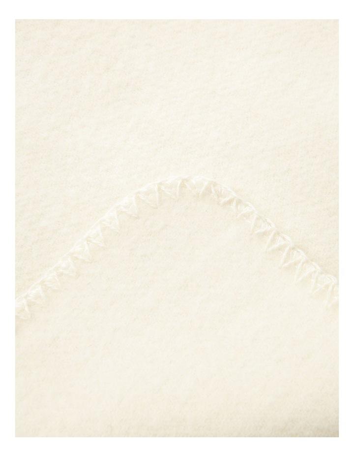 Australian Wool Blanket in Natural image 3