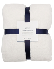 Heritage - Deluxe Faux Fur Blanket