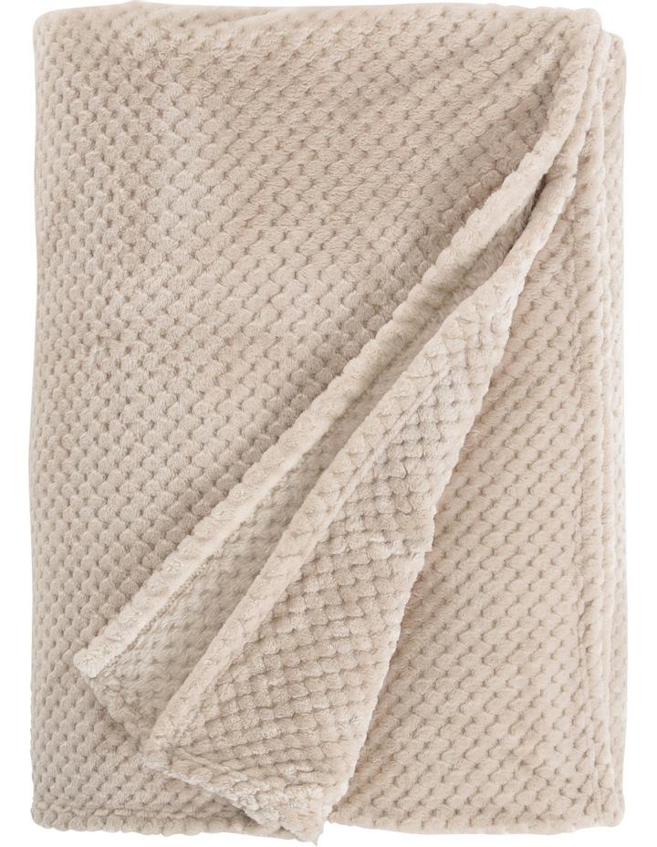 Waffle Plush Blanket image 2
