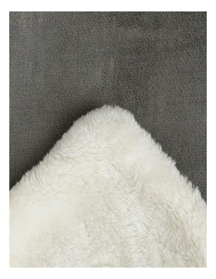 Reversible Faux Mink Blanket image 4