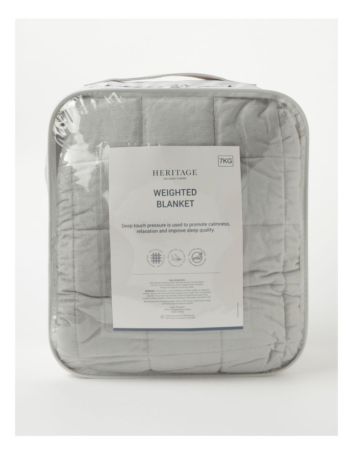 7kg Weighted Blanket in Grey image 1