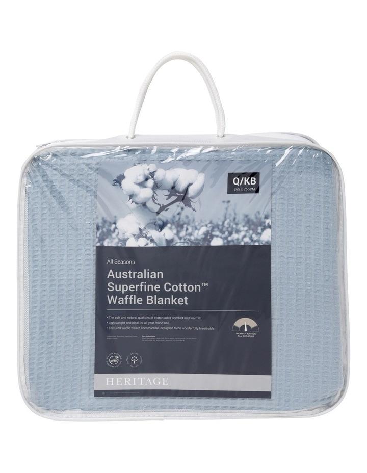 Australian Superfine Cotton Waffle Blanket image 1