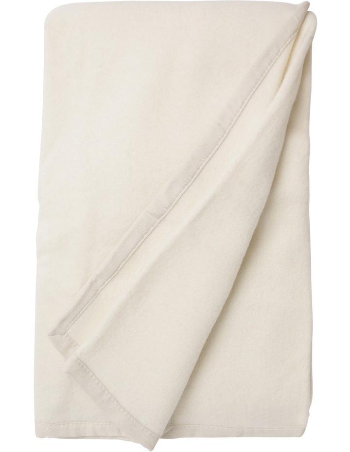 Alpaca Wool Blend Blanket image 2