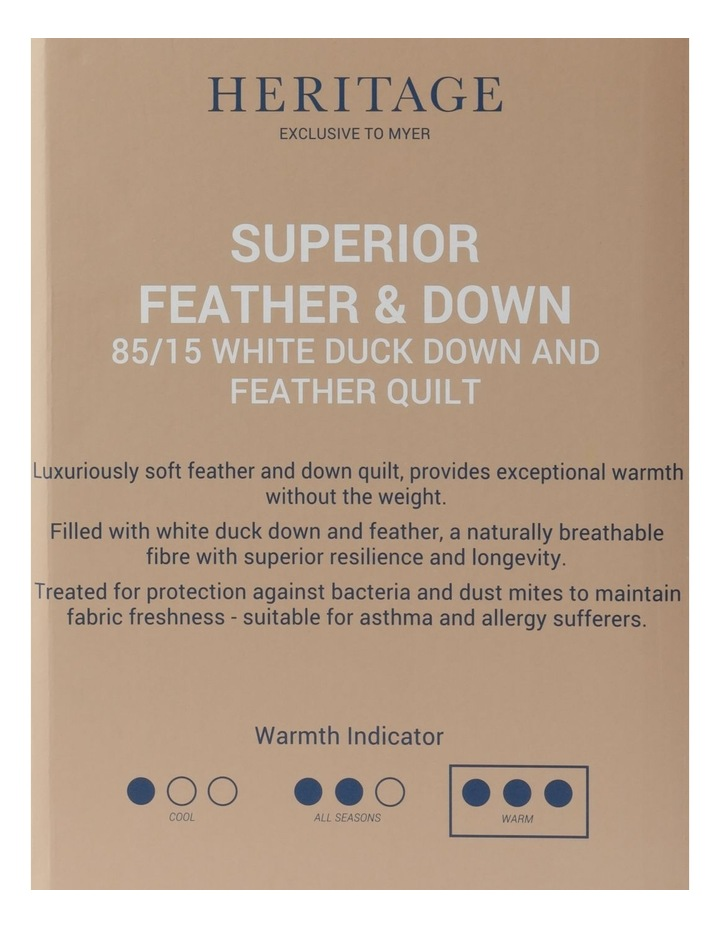 85/15 White Duck Down & Feather Quilt image 5
