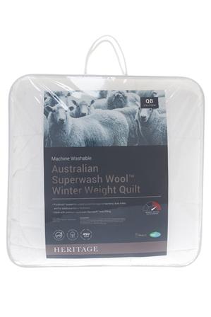 Heritage - Australian Superwash Wool Winter Weight Quilt