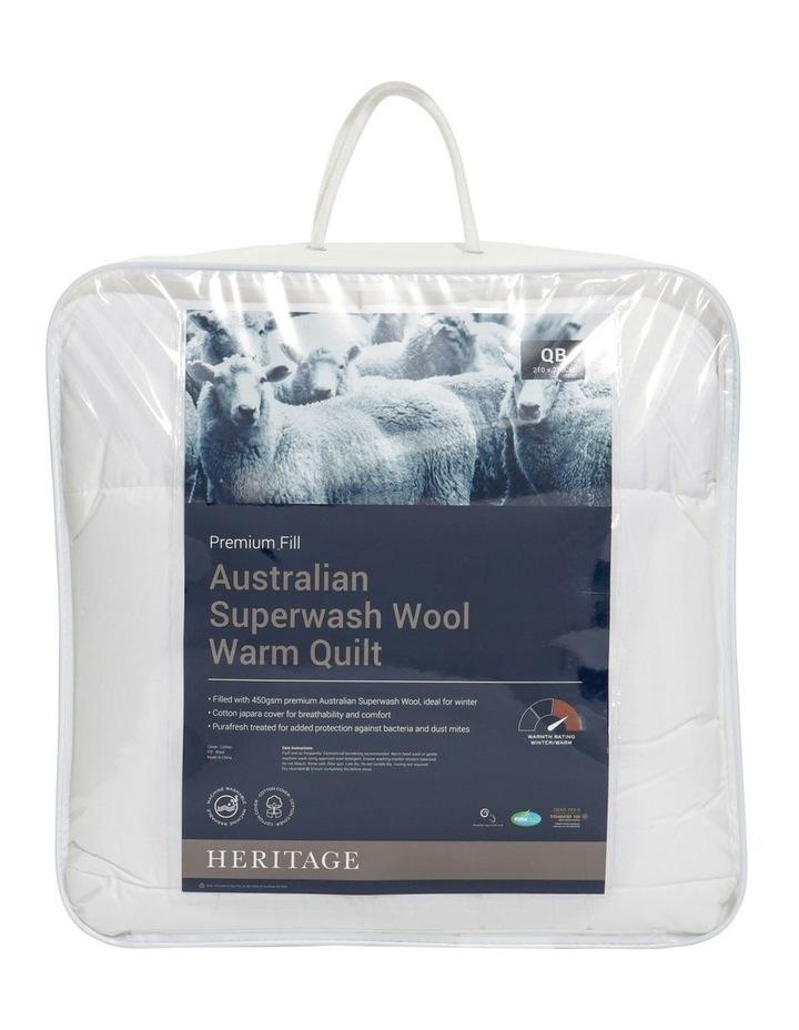 Australian Superwash Wool Warm Quilt image 1