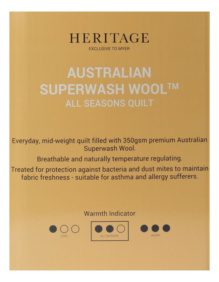 Australian Superwash All Seasons Quilt image 5