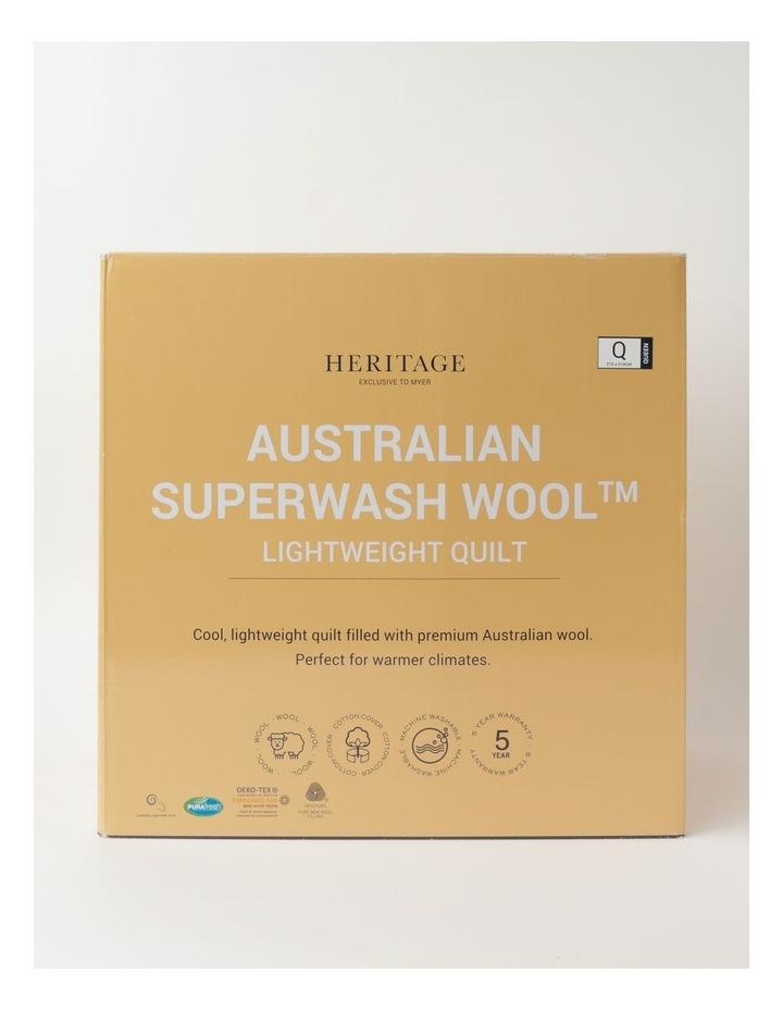 Australian Superwash Wool Light Weight Quilt image 1