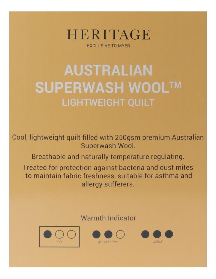 Australian Superwash Wool Light Weight Quilt image 5