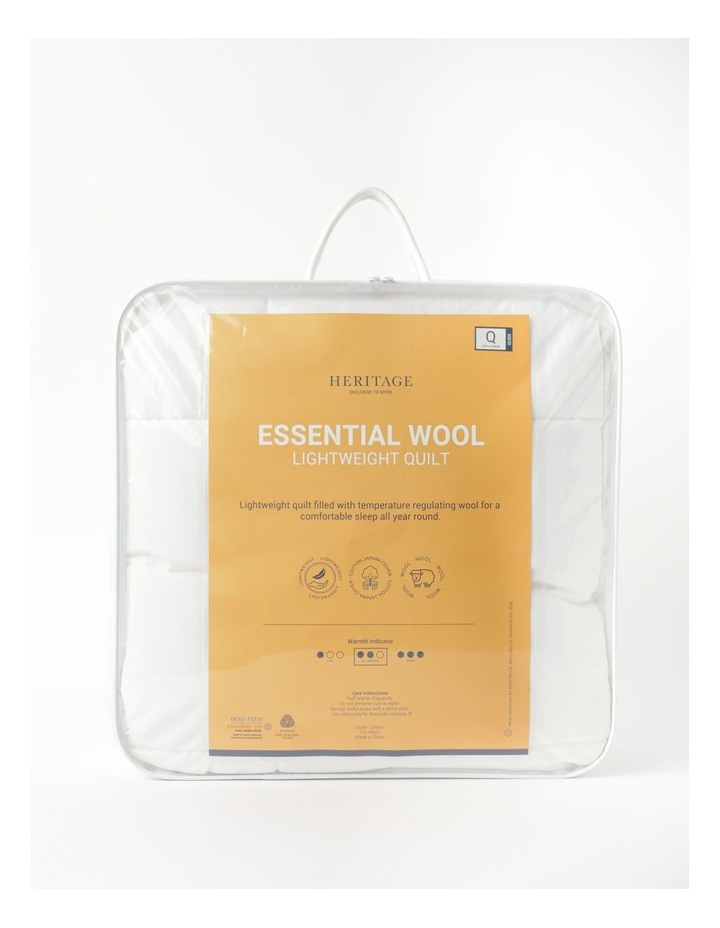 Heritage Essential Lightweight Wool Quilt image 1