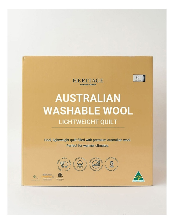 Australian Washable Wool Light Weight Quilt image 1