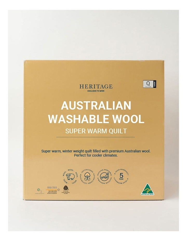 Australian Washable Wool Warm Quilt image 1