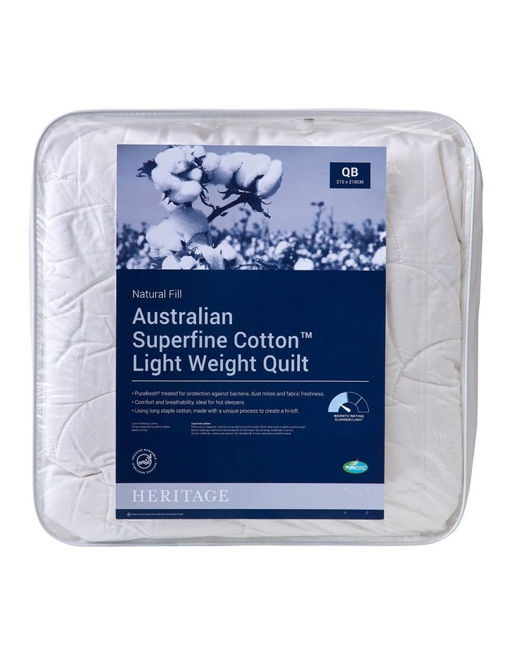 Australian Superfine Cotton Light Weigh Quilt image 1
