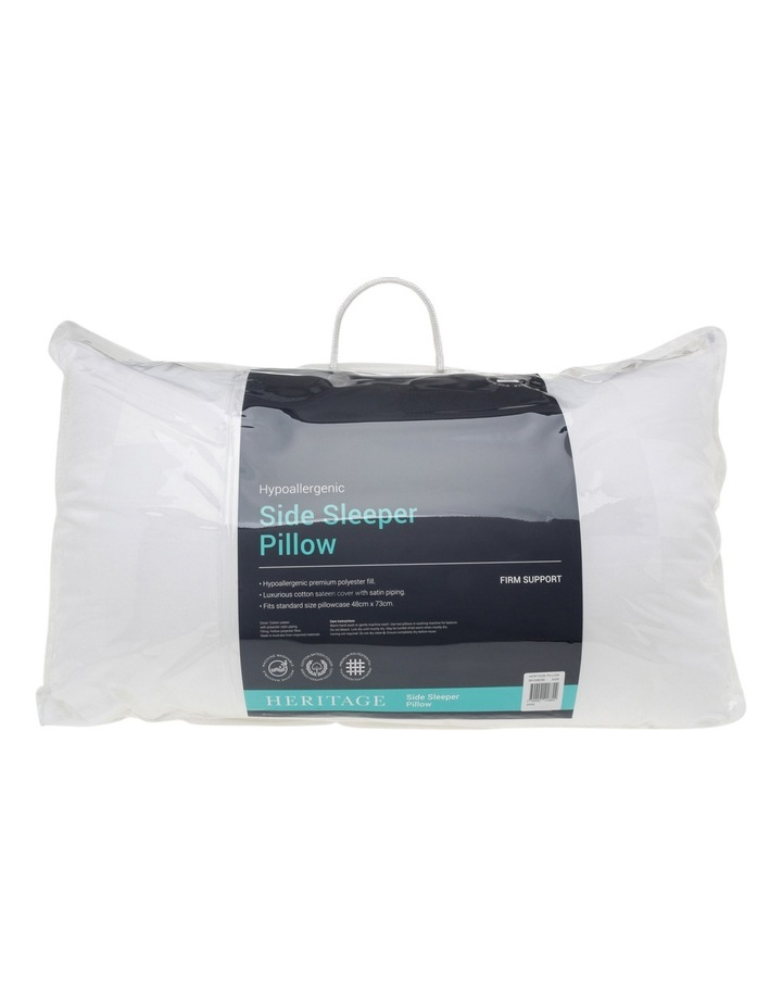 Side Sleeper Polyester Pillow image 1