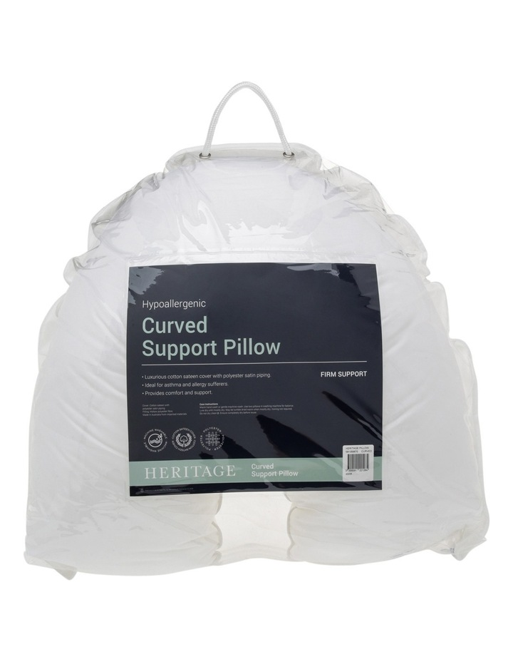 Curved Polyester Pillow image 1