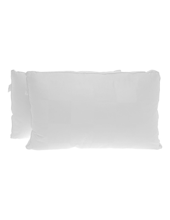 Gusseted Standard Polyester Pillow 2 Pack image 2