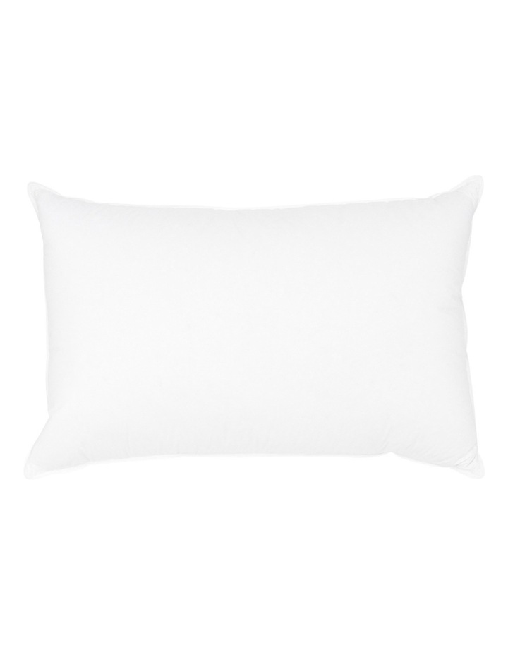 50/50 White Duck Down & Feather Pillow:High image 2
