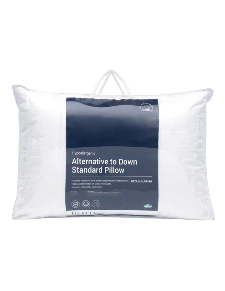 Alternative to Down Polyester Pillow Medium image 1