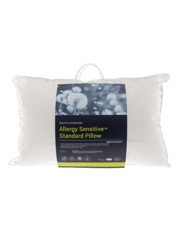 Allergy Sensitive Standard Pillow image 1
