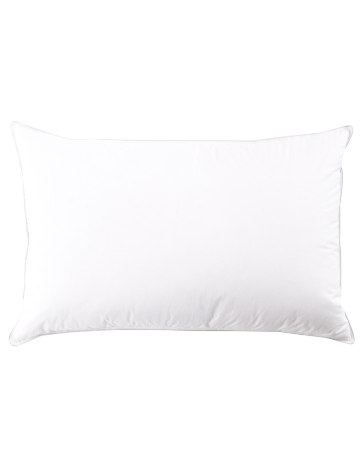 50/50 White Duck Down Surround Pillow image 2