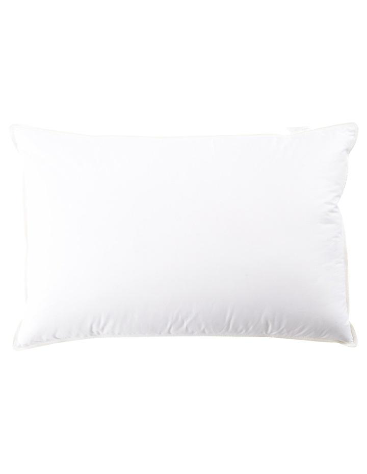 Heritage 85/15 White Goose Down Surround Pillow image 2