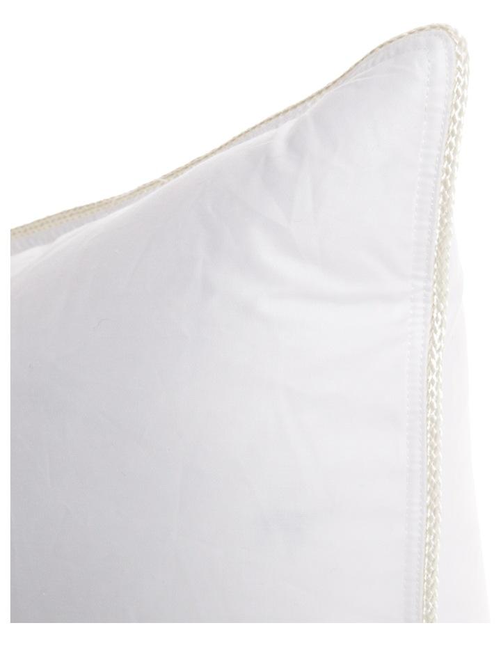 Heritage 85/15 White Goose Down Surround Pillow image 3