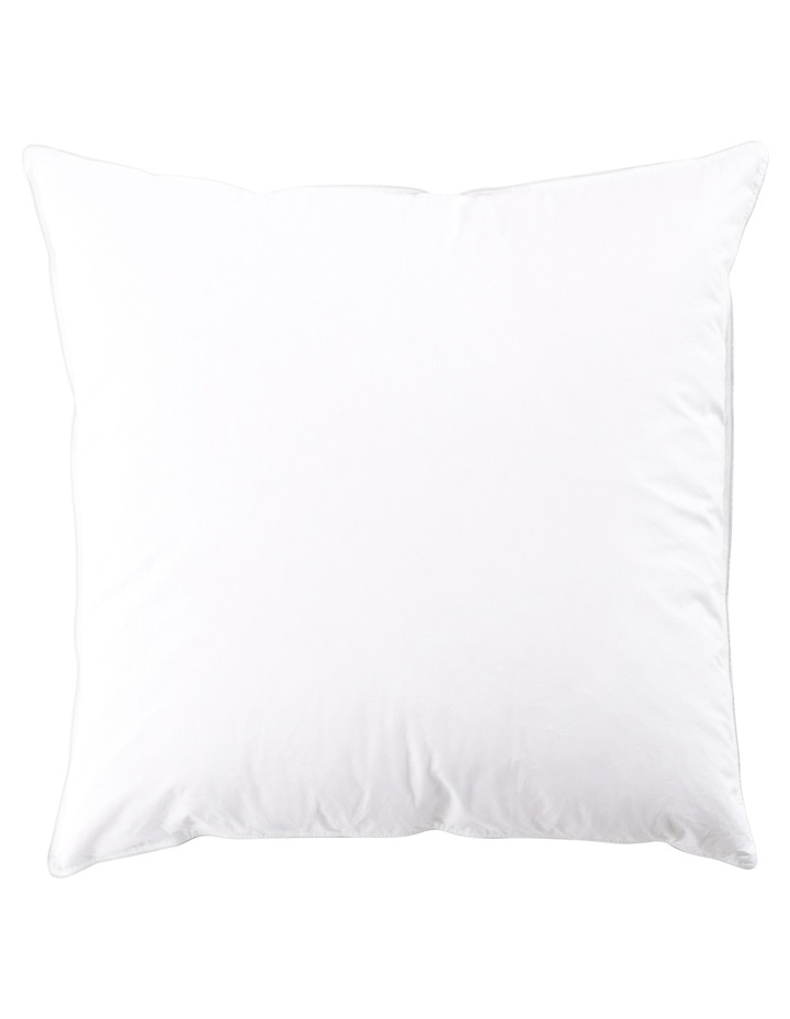 50/50 White Duck Down Surround Pillow Euro image 2