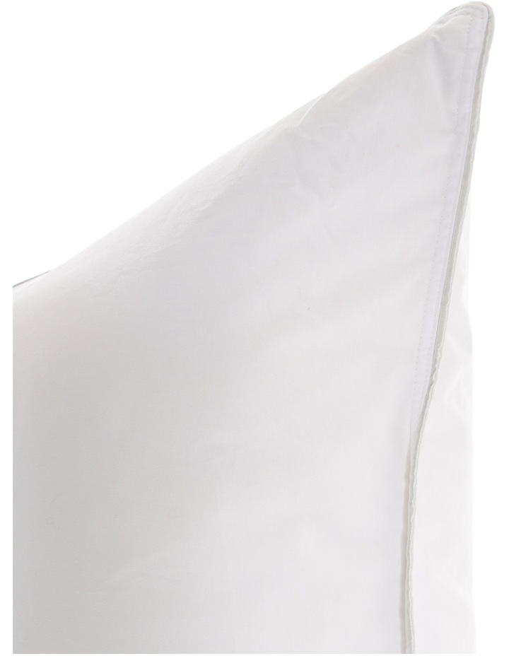 50/50 White Duck Down Surround Pillow Euro image 3