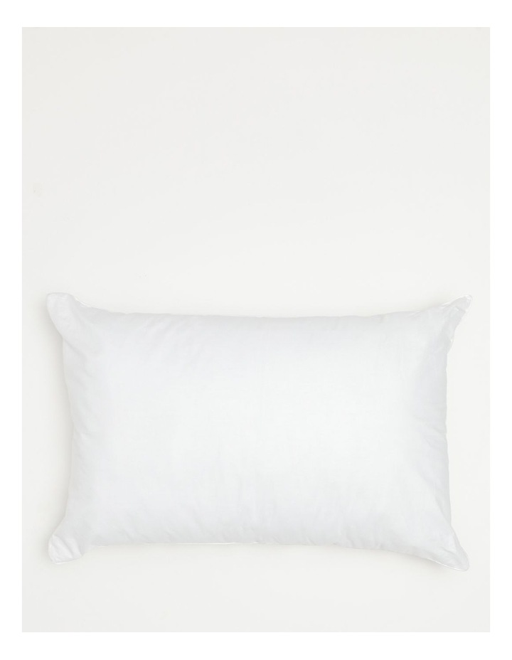 50/50 White Duck Down and Feather Pillow image 2