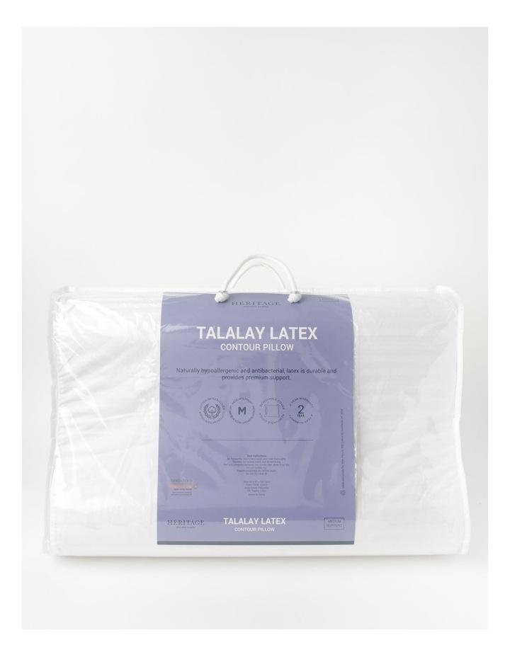 Talalay Latex Contour Pillow image 1