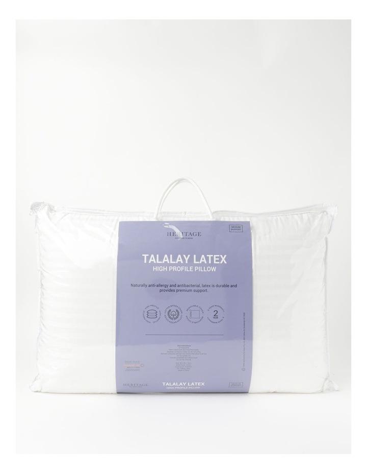 Talalay Latex High Profile Pillow image 1