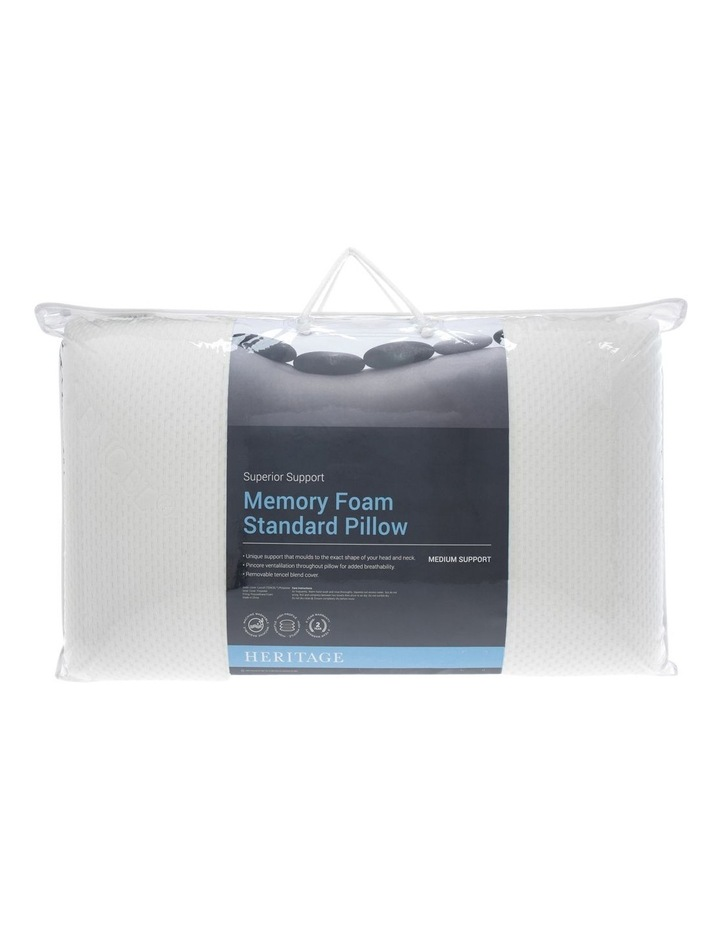 Memory Foam High Profile Firm Pillow image 1