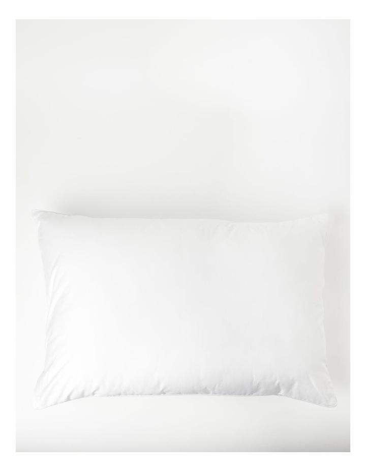 Removable Foam Core Microfibre Mid/High Density Pillow image 2